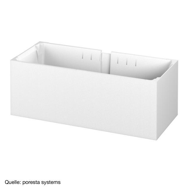 poresta systems Poresta Compact bath support Villeroy & Boch Loop & Friends rectangular bath