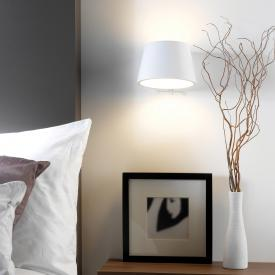 ASTRO-Illumina Koza wall light made of gypsum with on/off switch