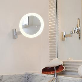 ASTRO-Illumina Niimi LED wall-mounted beauty mirror, 5x magnification, 230 V