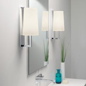 astro Riva 350 wall light with glass shade