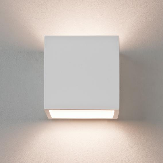 astro Pienza 140 wall light made of gypsum