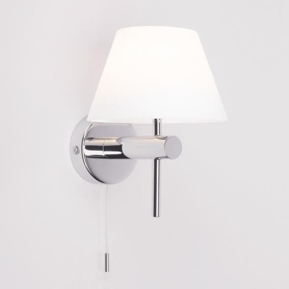 astro Roma wall light with switch