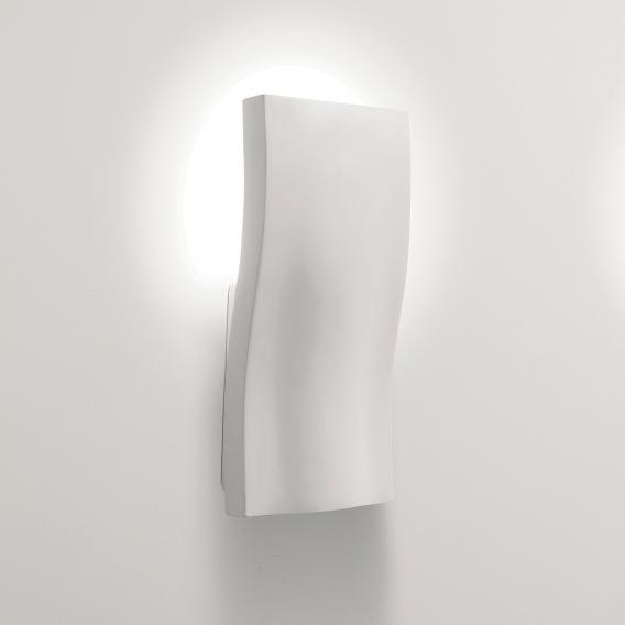 astro S-Light wall light made of gypsum