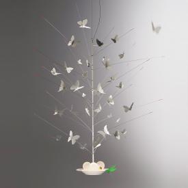 Ingo Maurer La Festa Delle Farfalle LED pendant light