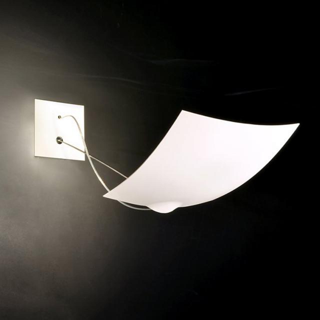 INGO MAURER 18x18 LED wall light