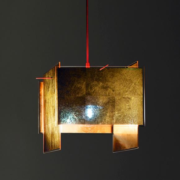 INGO MAURER 24 Karat Blau pendant lamp