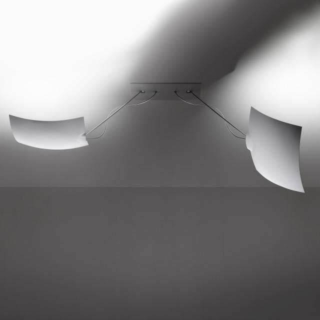 INGO MAURER 2x18x18 LED ceiling/wall light