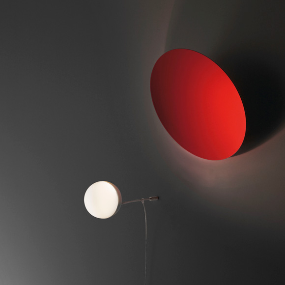 INGO MAURER Aka_Tsuki wall light with dimmer