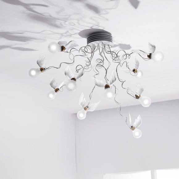 INGO MAURER Birdie´s Nest LED ceiling light