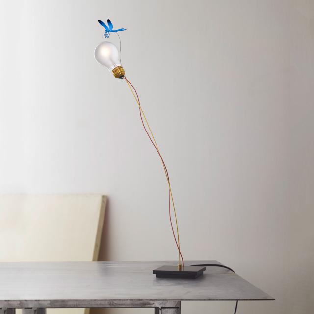 INGO MAURER I Ricchi Poveri Bzzzz table lamp with dimmer