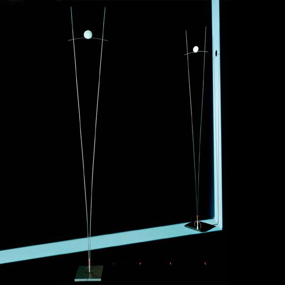 INGO MAURER Ilios floor lamp with dimmer