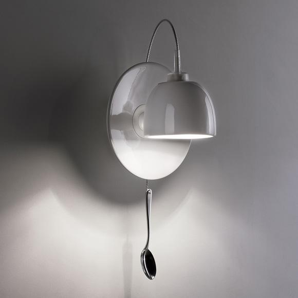 INGO MAURER Light au Lait wall light