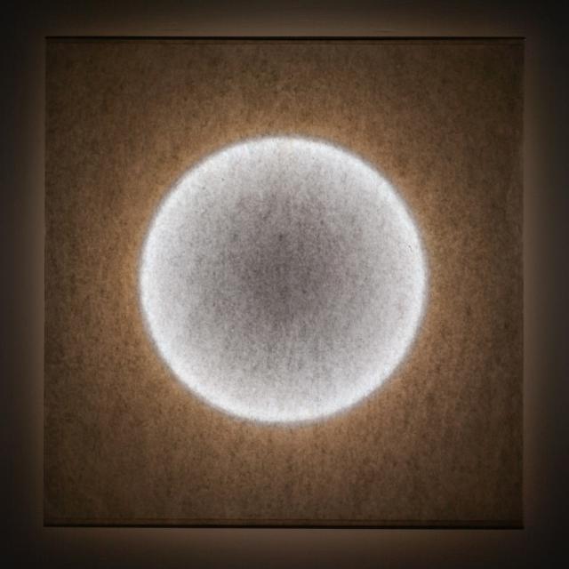 INGO MAURER Moodmoon LED wall light, square