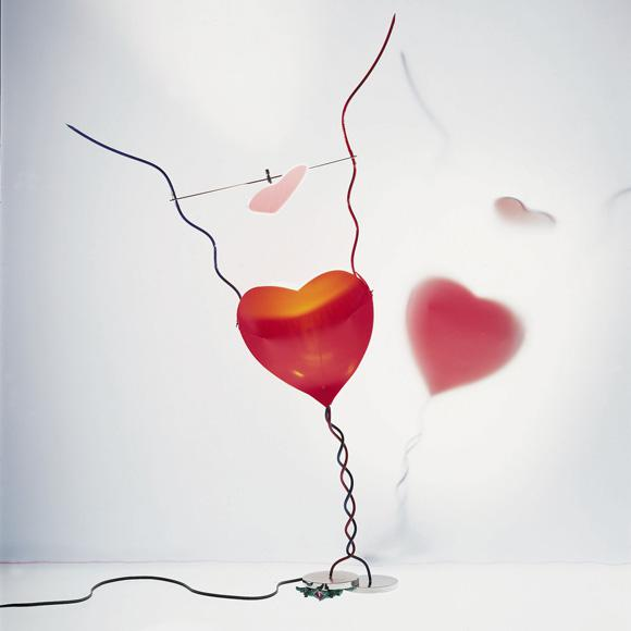 INGO MAURER One From The Heart table lamp with dimmer