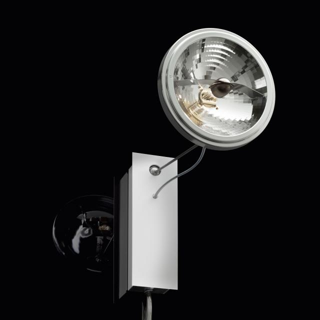 INGO MAURER Use Me W. wall light / spotlight with on/off switch