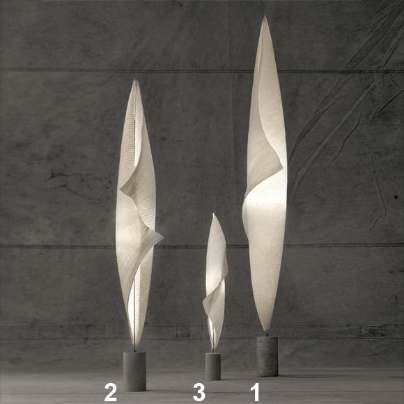 INGO MAURER WO-TUM-BU floor lamp with dimmer
