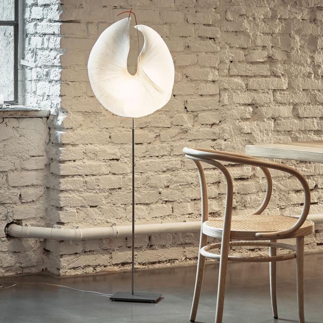 INGO MAURER Yoruba LED floor lamp with dimmer