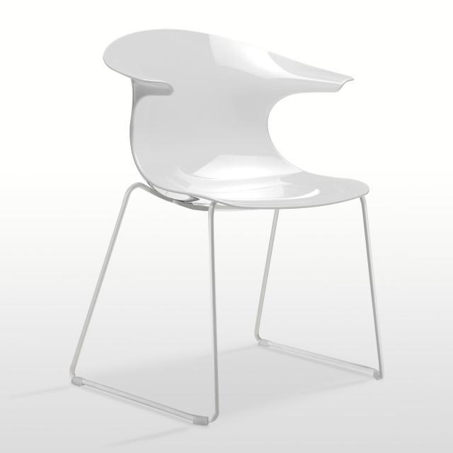 infiniti Loop chair with runners