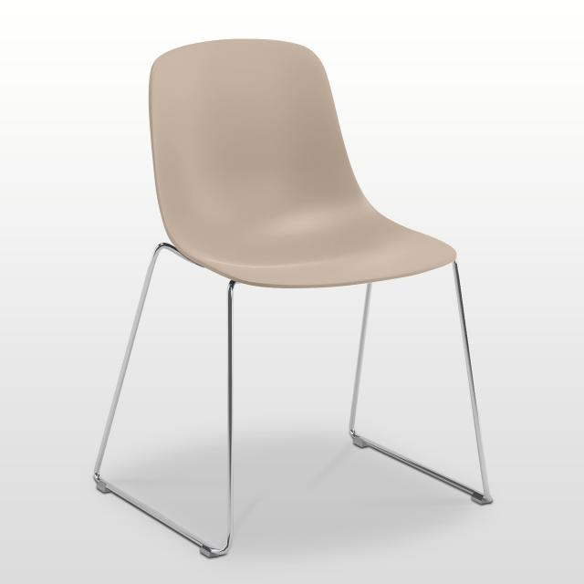 infiniti Pure Loop Mono chair with runners