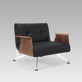 Innovation Clubber armchair with armrests