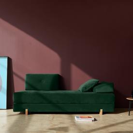 Innovation Sigmund sofa bed, wooden legs
