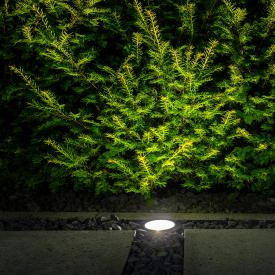 IP44.de in A . asymmetric LED in-ground uplighter/spotlight