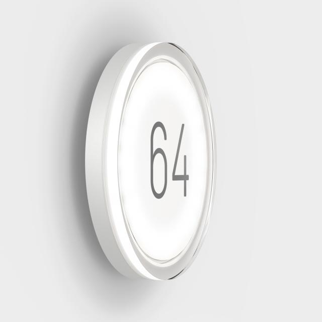 IP44.de lisc number LED illuminated house number