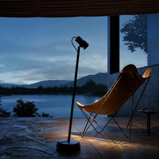 IP44.de piek lettura connect LED spotlight/floor lamp