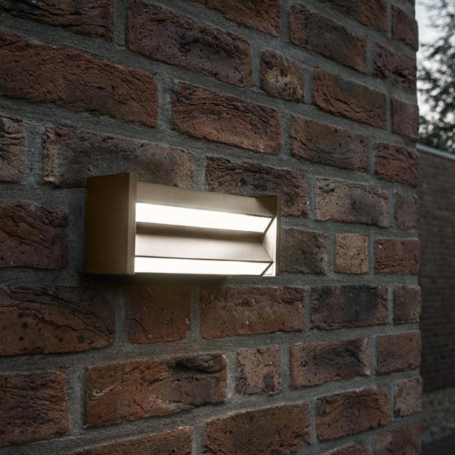 IP44.de slat LED ceiling light / wall light