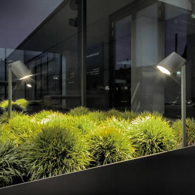 IP44.de stic spike connect LED spotlight with ground spike