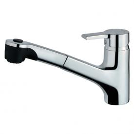 Ideal Standard Active kitchen mixer with pull-out hand spray chrome