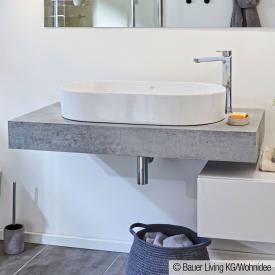 Ideal Standard Adapto countertop stone decor