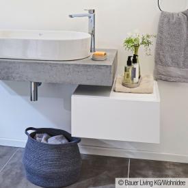 Ideal Standard Adapto vanity unit front white high gloss / corpus white high gloss