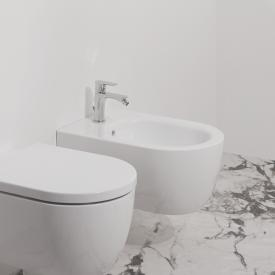 Ideal Standard Blend round wall-mounted bidet white, with Ideal Plus
