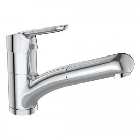 Ideal Standard CeraFlex kitchen mixer with retractable hand shower