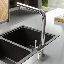 Ideal Standard CERALOOK single lever kitchen fitting with swivel & pull-out spout
