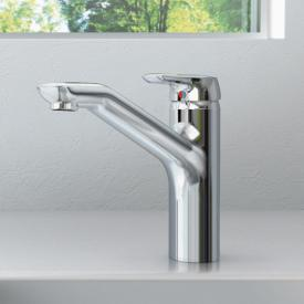 Ideal Standard CeraMix Blue single lever kitchen mixer chrome