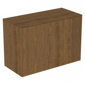 Ideal Standard Conca side unit with 1 pull-out compartment front dark walnut/corpus dark walnut