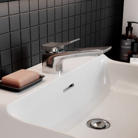 Ideal Standard Conca washbasin fitting chrome, with waste set