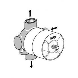 Ideal Standard concealed 3/2 way diverter