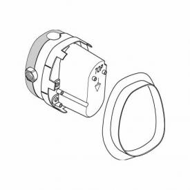 Ideal Standard concealed part for central thermostat thread 1/2