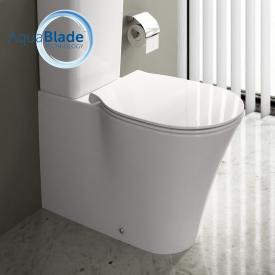 Ideal Standard Connect Air floorstanding, close-coupled washdown toilet, AquaBlade, concealed horizontal with Ideal Plus