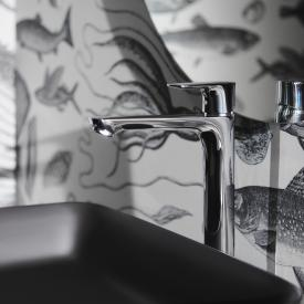 Ideal Standard Connect Air single lever basin mixer with raised pillar with BlueStart without pop-up waste set