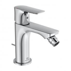 Ideal Standard Connect Air single lever bidet fitting with pop-up waste set chrome