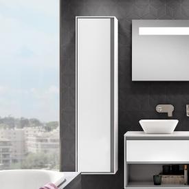Ideal Standard Connect Air tall unit front white gloss / corpus matt light grey/white gloss