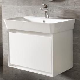 Ideal Standard Connect Air vanity unit for hand washbasin with 1 pull-out compartment white gloss / matt white