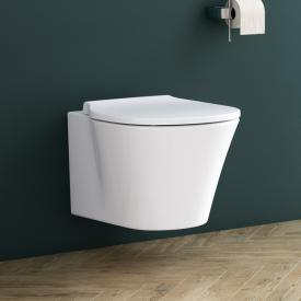 Ideal Standard Connect Air toilet set, wall-mounted, rimless, washdown toilet, with toilet seat white