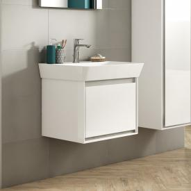 Ideal Standard Connect Air washbasin with vanity unit with 1 pull-out compartment white