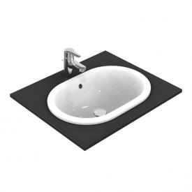 Ideal Standard Connect drop-in washbasin oval white