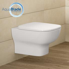 Ideal Standard Connect E wall-mounted washdown toilet, AquaBlade, with toilet seat white